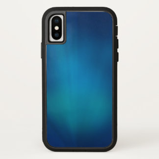 Deep Blue Underwater Glow iPhone X Case