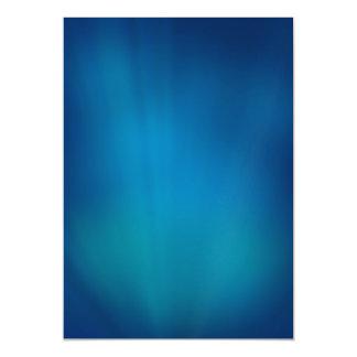Deep Blue Underwater Glow Magnetic Invitations