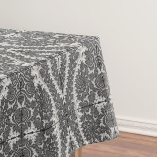 Deep Circuit Tablecloth Dining Room Design