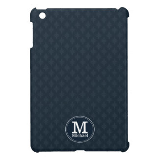 Deep Classic Navy Custom Monogram Case For The iPad Mini