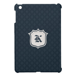 Deep Classic Navy Custom Monogram Cover For The iPad Mini