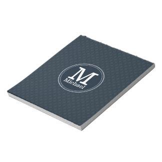 Deep Classic Navy Custom Monogram Notepads