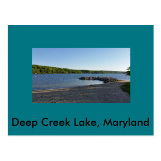 Deep Creek Lake Maryland Postcard