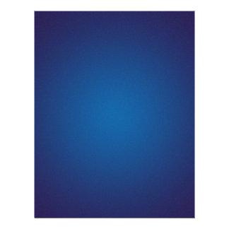 Deep Dark Blue Grainy Vignette 21.5 Cm X 28 Cm Flyer