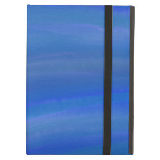 Deep Dark Blue Ocean watercolor iPad Air Case