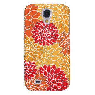 Deep Floral Art Samsung Galaxy S4 Case