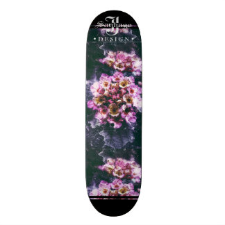 Deep Floral Skateboard