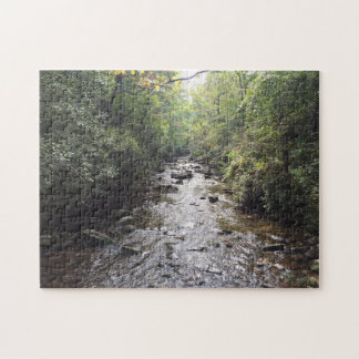 Deep Forest River Puzzle