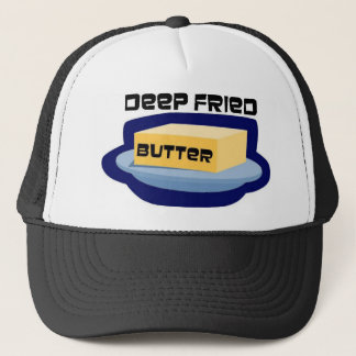 Deep Fried Butter Trucker Hat