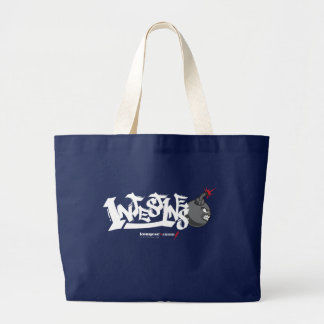 Deep Fried Pork Intestines | Jumbo Tote Bag