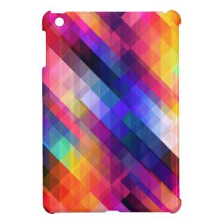 Deep Geometric Tetris Squares - Modern Pattern Cover For The iPad Mini