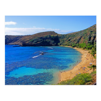 Deep Hanauma Bay 3, Honolulu, Oahu, Hawaii Inland Postcard