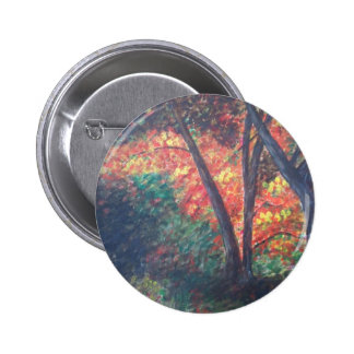 Deep in the Autumn Woods Pin