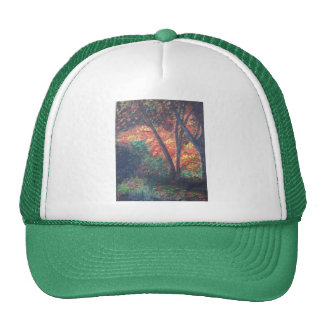 Deep in the Autumn Woods Mesh Hats