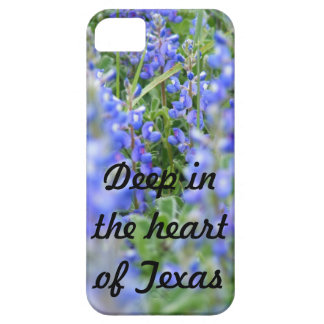 """Deep in the heart of Texas"" bluebonnet phone case iPhone 5 Covers"