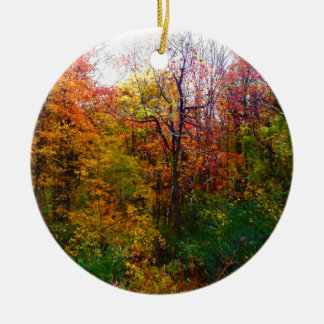 Deep In The Woods Ceramic Ornament