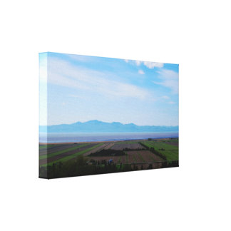 Deep Landscape Canvas Print