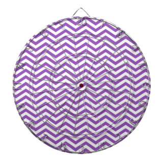 Deep Lilac Chevron Dart Boards