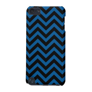 Deep Ocean Blue Chevron 2 iPod Touch 5G Cover