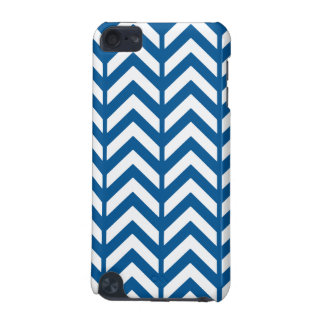 Deep Ocean Chevron 3 iPod Touch 5G Covers
