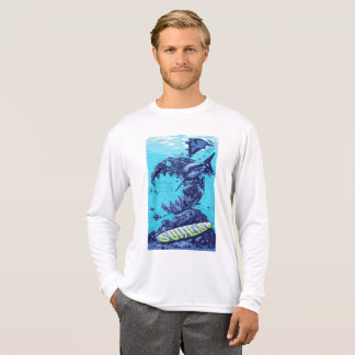 Deep ocean long tee sleeves