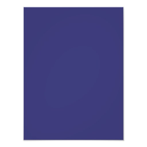 Deep Orchid Purple Color Trend Blank Template Photo Print