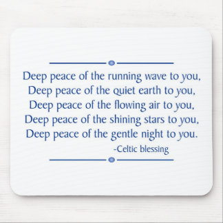Deep Peace Mousepad