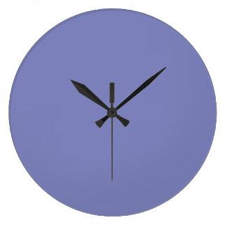 Deep Periwinkle Wall Clock