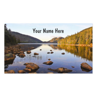Deep Perspective Pack Of Standard Business Cards