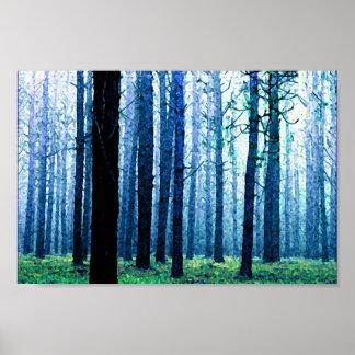 Deep Piney Woods Poster