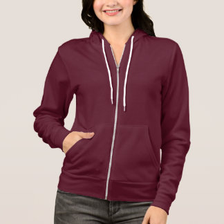 Deep Pink  Apparel Flex Fleece Zip Hoodie