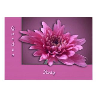 Deep Pink Daisy Custom Announcement