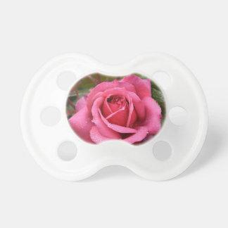 Deep Pink Morning Rose Pacifier