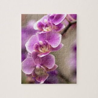 Deep Pink Phalaenopsis Orchid Flower Chain Puzzle