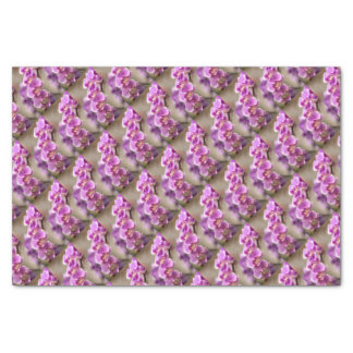 Deep Pink Phalaenopsis Orchid Flower Chain Tissue Paper