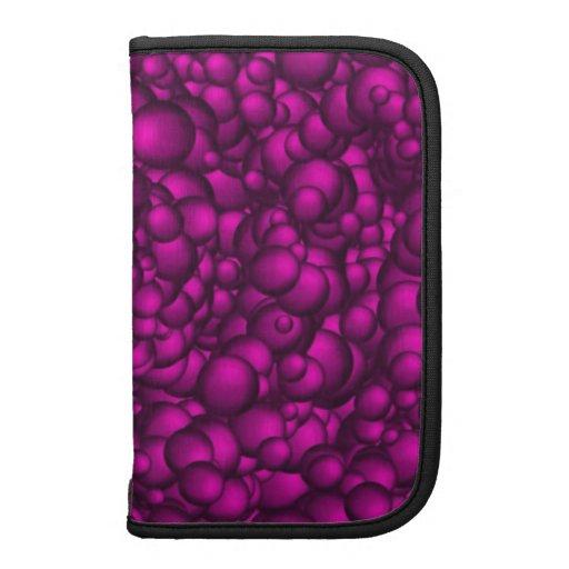 Deep Pink/Purple Bubby Pattern Smartphone Folio Planner