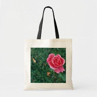 Deep Pink Rose flowers Bags