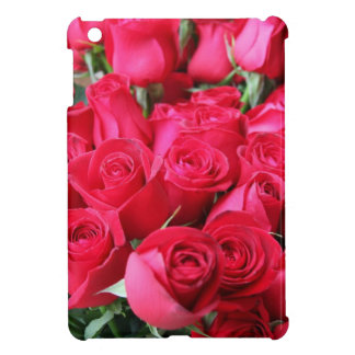 Deep Pink Roses Case For The iPad Mini