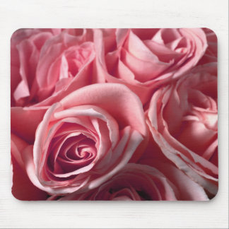 Deep Pink Roses Mouse Pad