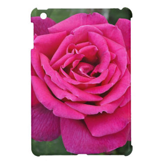 Deep pink single rose case for the iPad mini