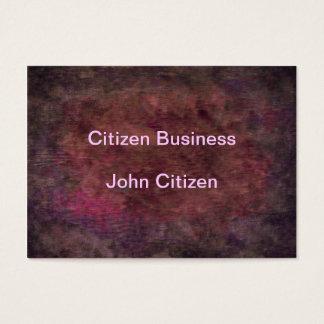 Deep Plum Texture Business Card