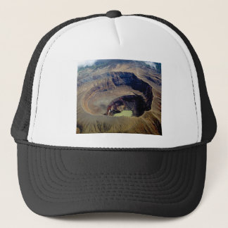 deep pond water trucker hat