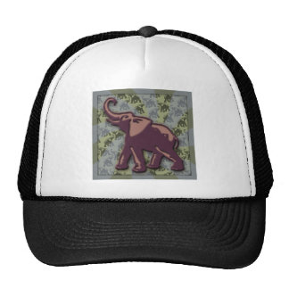 Deep Purple Elephant Too Cap