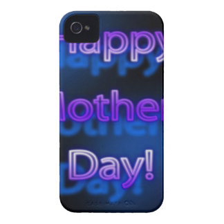 Deep Purple Happy Mother's Day Design iPhone 4 Cover