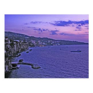 Deep Purple In Sorrento! Postcard