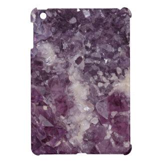 Deep Purple Quartz Crystal iPad Mini Cases