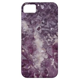 Deep Purple Quartz Crystal iPhone 5 Case