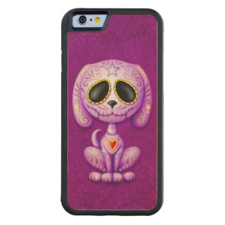 Deep Purple Zombie Sugar Puppy Carved® Maple iPhone 6 Bumper