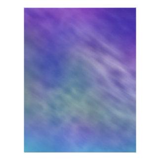 Deep Rainbow Colored Sky Background 21.5 Cm X 28 Cm Flyer
