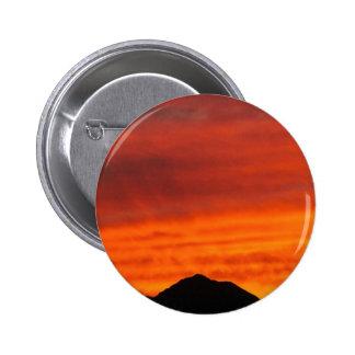 Deep red Arizona sunset Pinback Button
